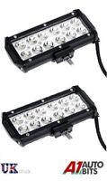 2x 36W Bright LED Car Bike Motorcycle Work Driving Fog Light Spot Beam Lamp New