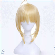 Fate/stay Night Saber Arturia Pendragon Hairpiece Anime Cosplay Accessory Wig