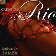 Conjunto Explosao Do Samba - Carnival in Rio [New CD] With Book