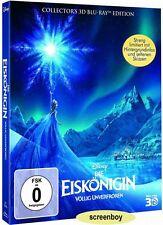 """DIE EISKÖNIGIN"" - Walt Disney - 3D + 2D BLU RAY - 2-Disc Digibook - neu/OVP"