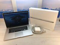"Apple MacBook Pro Retina 2014 15"" Laptop 256GB SSD 2.2GHz i7 16GB RAM w/Box"