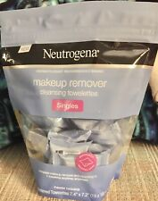 One Neutrogena Makeup Cleansing Towelettes Pckg 20 Ind Wrapped Alcohol Free