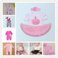 "Clothing For 20""-22"" Reborn Baby 23"" Doll Girl Replace Clothes Dress Outfit"