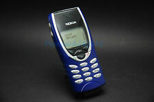 Classical Nokia 8210 Blue Unlocked GSM Mobile phone bundle battery charger