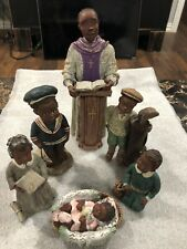 Lot Of 6 Sarah's Attic Figurines (see Details)