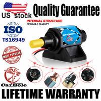 Universal 4-7 PSI Micro Electric Fuel Pump For Use w/Carburetor 35 GPH 12V