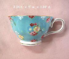 SALE China Mosaic Tiles~Half Tea Cup~RETRO 50'S KITCHEN~AQUA~TURQUOISE~SHABBY