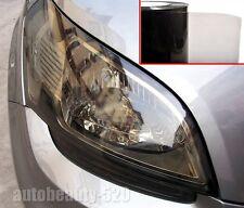 "One Roll / 12"" x 354"" Glossy Car Headlight Taillight Vinyl Tint Film Light Black"