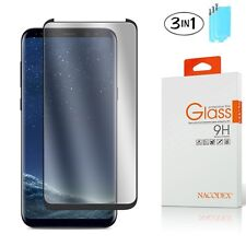 3x CASE FRIENDLY 3D Full Curved Glass Screen Protector Samsung Galaxy S8 Plus