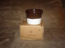 Longaberger American Craft Traditions Serving Crock - Nib