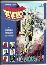 Marvel Graphic Novel Revenge of the Living Monolith VG/FN 1st Print Apocalypse