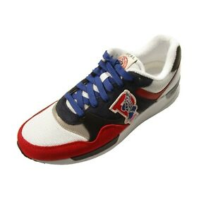 Polo Ralph Lauren Men's Red/Blue Multi Trackster 100 Sneaker