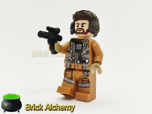 Genuine LEGO Star Wars Minifigure - Speeder Pilot - from set 75195
