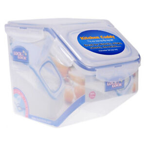 Lock & Lock Classic storage Case 5L for storing rice cereal biscuits crisp sweet