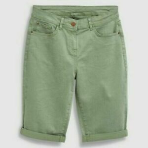 Ladies Next Knee Length Shorts SOFT TOUCH Sizes  10 12 14 16 B133