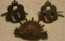 Australian Commonwealth Military Forces Rising Sun Collar  Badge