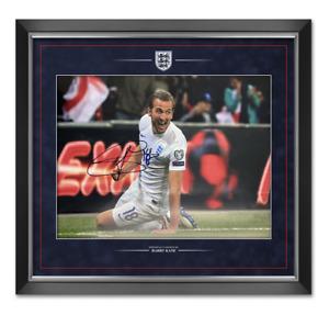 Harry Kane Signed & Framed 16X12 Photo Mount England & SPURS AFTAL COA (I)
