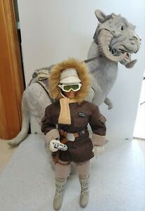 """Hasbro Star Wars Collector's Series, Han Solo Hoth Gear with TaunTaun, 12"""" Scale"""