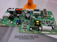 Sony KDL-V32XBR1 Power Board A-1104-423-B / 1-866-355-22