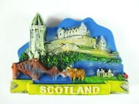Schottland Magnet Scotland Highlands 6,5 cm Poly,Souvenir GB