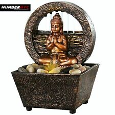 LED Fountain Tranquil Buddha Soothing Natural River Rocks Relaxation Meditate