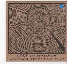 (EZ650) Luke Sital-Singh, Nothing Stays The Same - 2013 DJ CD
