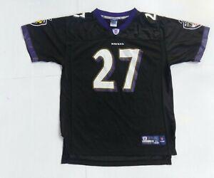 Ray Rice Youth Reebok Baltimore ravens Home Black Jersey Size Xl #27