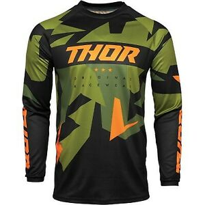 Thor Sector Warship Jersey Motocross Dirt Bike Offroad Riding - Adult sizes