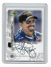 1999 Upper Deck MVP ProSign SILVER Kyle Petty AUTHENTIC AUTOGRAPH 21 YEARS OLD