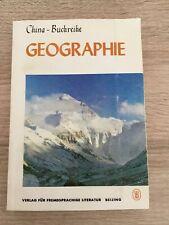 China Buchreihe Geographie 1. Auflage 1984