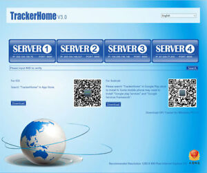 Coban tracker Web platform service fee 10 year App web Platform activated