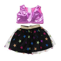 18inch Doll Party Accessory Vest Top Tee And Miniskirt For American Dolls