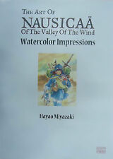 The Art of Nausicaa of the Valley of the Wind: Watercolor Impressions miyazaki