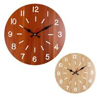 Orologio Da Parete Rotondo Decorativo nel Legno Stile Rustico Toscano Rusti R7F4