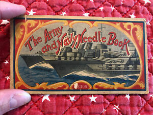 The Army and Navy Needle Book WW2 Collectible Made in Japan