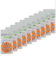 60 PowerOne Hearing Aid size 13 Genuine Mercury Free  Batteries,Germany exp-2024