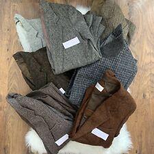 Vintage Harris Tweed Bundle Joblot X 7 Jackets Grade B