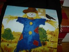 """Fall Applique Padded Scarecrow Runner-72"""" X 13""""-#R20"""