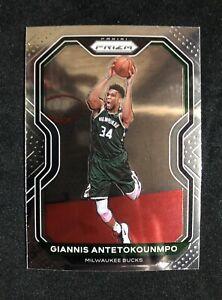 2020-21 Prizm Giannis Antetokounmpo Basketball Card