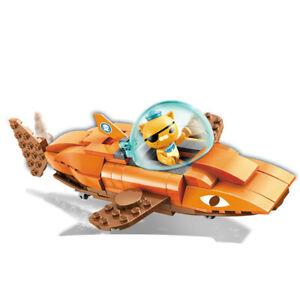 Octonauts GUP-B Tiger Shark with Kwazii Building Block Set (113PCS)