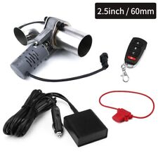 2.5'' 63mm Exhaust Cutout System E-Cut Out w/ Electric Remote Control Valve Kit