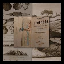 BONAVENTURA MONTANI : CATECHISMO di GEOLOGIA - NAPOLI 1847  Vesuvio Conchiglie