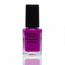 5ml Stamping Lack Neon Lila für Konad Nail Stempellack Nagellack