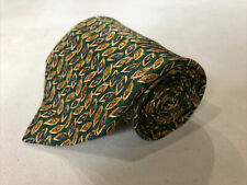 Paul Stuart Men's Green Paisley Silk Neck Tie $125