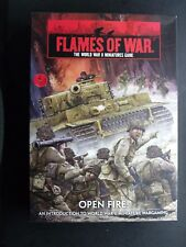 (L115) FLAMES OF WAR WWII OPEN FIRE STARTER KIT (FWBX01)