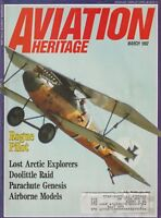 Aviation History (Mar 1992) (Hall-Aluminum Planes, Doolittle Raid, Parachutes)
