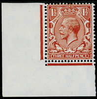 SG420 SPEC N35(3), 1½d pale red-brown, M MINT. Cat £25. CORNER MARGINAL