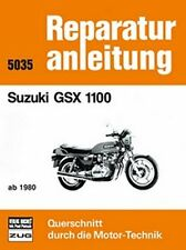 WERKSTATTHANDBUCH REPARATURANLEITUNG WARTUNG 5035 SUZUKI GSX 1100 ab 1980