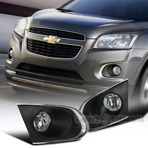 For 2015-2016 Chevy Trax LT LS LTZ Front Fog Bumper Lights w/Bulbs
