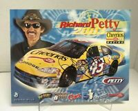 NM-Mint Hand Signed Richard Petty Cheerios Autographed Nascar Postcard Info Card